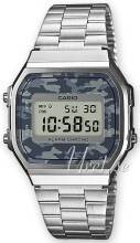 Casio A168WEC-1EF Casio Collection LCD/Teräs 36.3x38.6 mm A168WEC-1EF