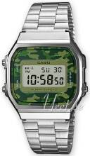 Casio A168WEC-3EF Casio Collection LCD/Teräs 36.3x38.6 mm A168WEC-3EF