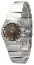 Omega 123.10.24.60.57.003 Constellation Quartz 24mm Harmaa/Teräs Ø24 mm 123.10.24.60.57.003