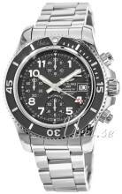 Breitling A13311C9-BE93-161A Superocean Chronograph Musta/Teräs Ø42 mm A13311C9-BE93-161A