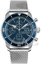 Breitling A13313161C1A1 Superocean Heritage Ii Chronograph Sininen/Teräs Ø44 mm A13313161C1A1