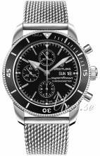 Breitling A13313121B1A1 Superocean Heritage Ii Chronograph Musta/Teräs Ø44 mm A13313121B1A1