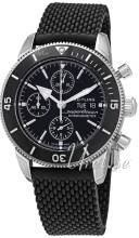 Breitling A13313121B1S1 Superocean Heritage Ii Chronograph Musta/Kumi Ø44 mm A13313121B1S1