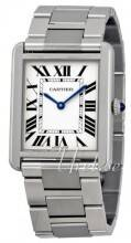 Cartier W5200014 Tank Solo Large Hopea/Teräs 34.8x27.4 mm W5200014