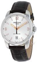 Certina C001.410.16.037.01 DS Podium Hopea/Nahka Ø38 mm C001.410.16.037.01
