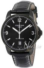 Certina C001.410.16.057.02 DS Podium Musta/Nahka Ø38 mm C001.410.16.057.02