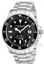 Stührling Original 883.01 Aquadiver Musta/Teräs Ø42 mm 883.01