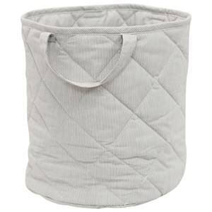 Vinter & Bloom Unisex Storage Grey Fine Embroidery Storage Basket