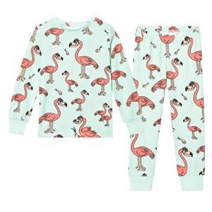 Tao&friends; Unisex Nightwear Green Flamingon Pyjamas Mint