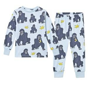 Tao&friends; Unisex Nightwear Blue Gorillan Pyjamas Blue