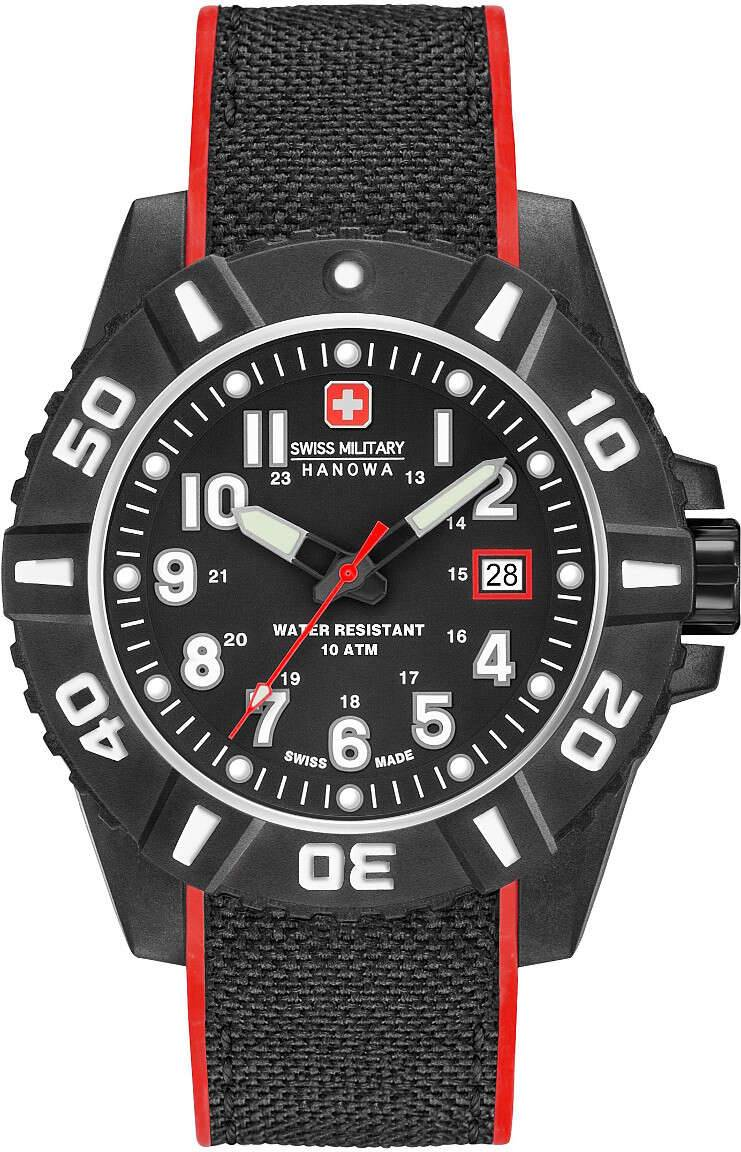 Swiss Military Hanowa 06-4309.17.007.04 Black Carbon