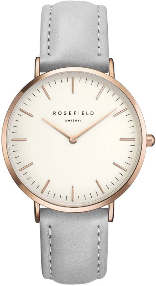 Rosefield Bowery BWGR-B9 White - Grey - Rose Gold