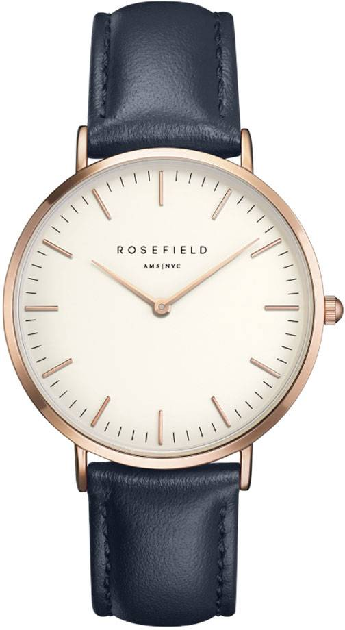 Rosefield Bowery BWBUR-B14 White - Blue Rose Gold