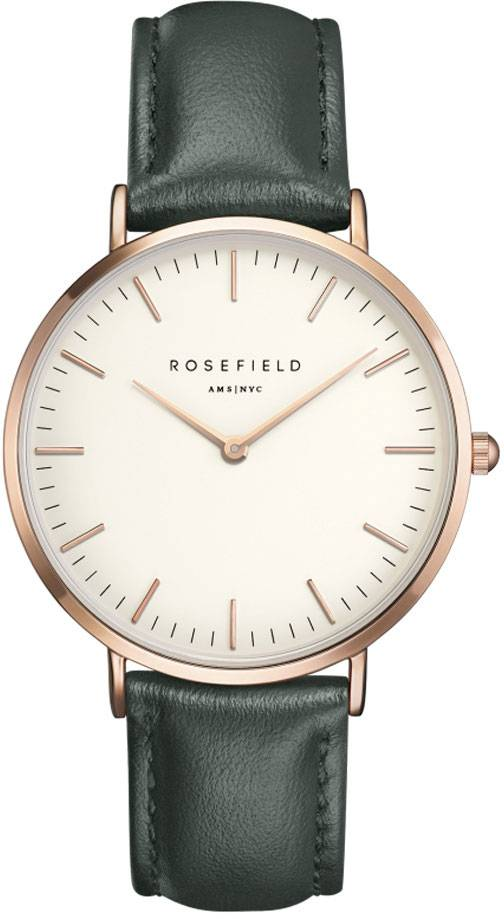 Rosefield Bowery BWGER-B16 White - Green - Rose Gold