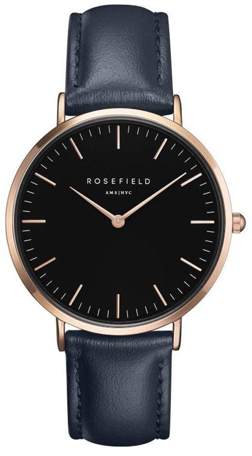 Rosefield Bowery BBUR-B18 Black - Blue - Rose Gold