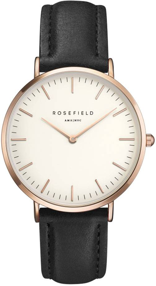 Rosefield Bowery BWBLR-B1 White - Black - Rose Gold