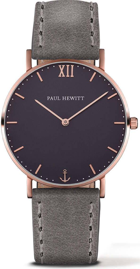 Paul Hewitt Sailor Line Blue Lagoon Rose Gold Grey 39mm