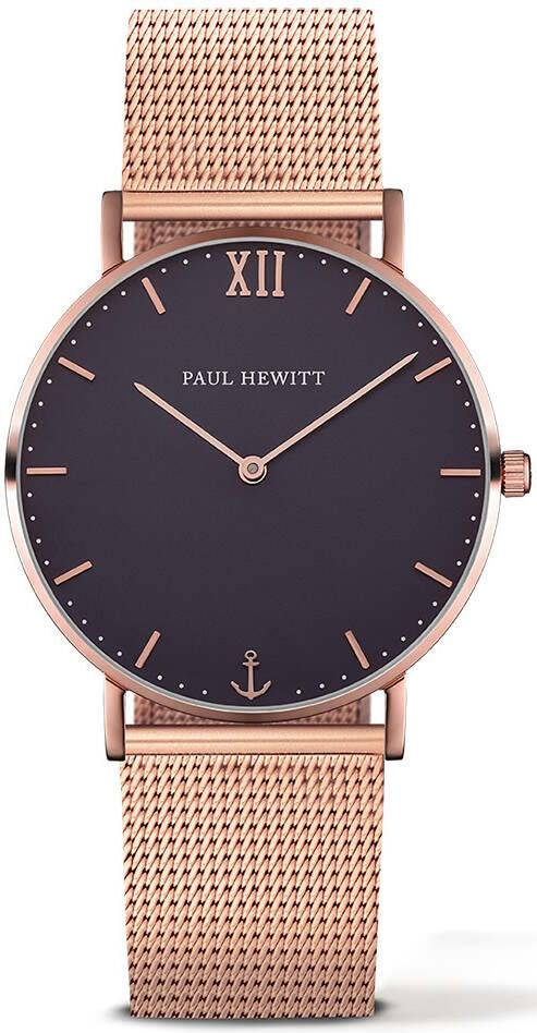 Paul Hewitt Sailor Line Blue Lagoon Rose Gold 39mm