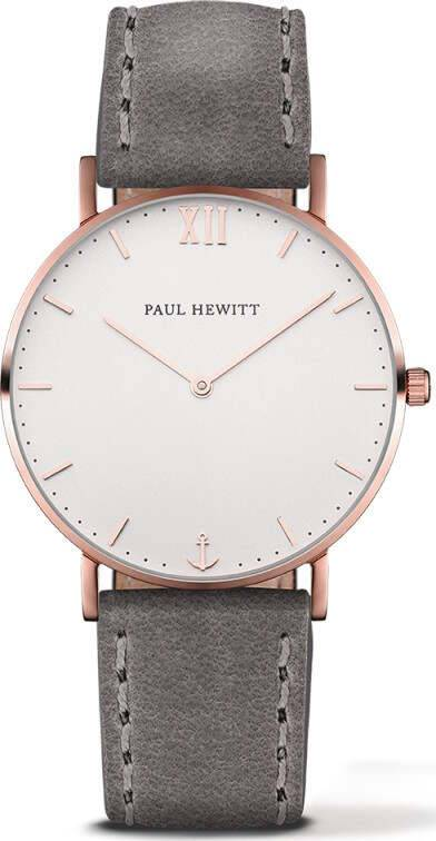 Paul Hewitt Sailor Line White Sand Rose Gold Grey 39mm