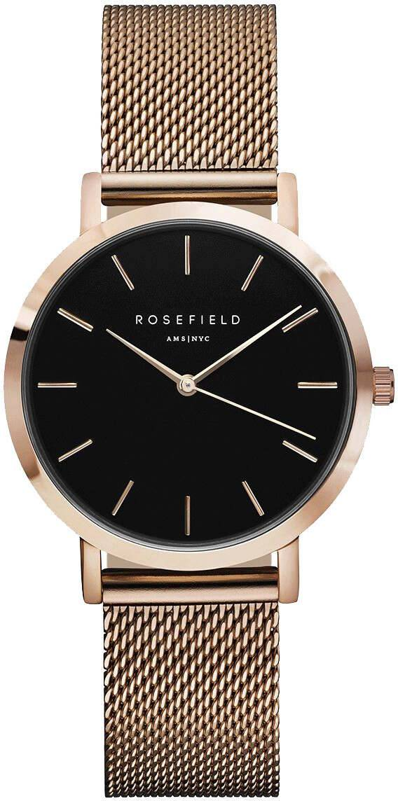 Rosefield Tribeca TBR-T59 Black - Rose Gold