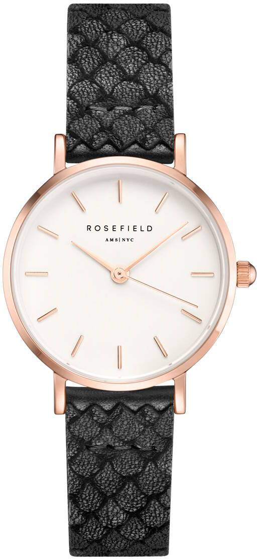 Rosefield 26WBR-261 The Small Edit White - Black