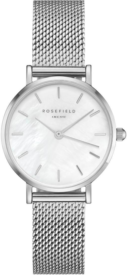 Rosefield 26WS-266 The Small Edit White - Silver