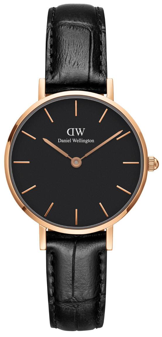 Daniel Wellington Classic Petite Reading Rose Black 28mm DW00100223