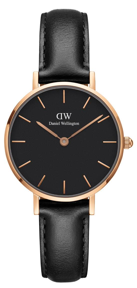 Daniel Wellington Classic Petite Sheffield Rose Black 28mm DW00100224