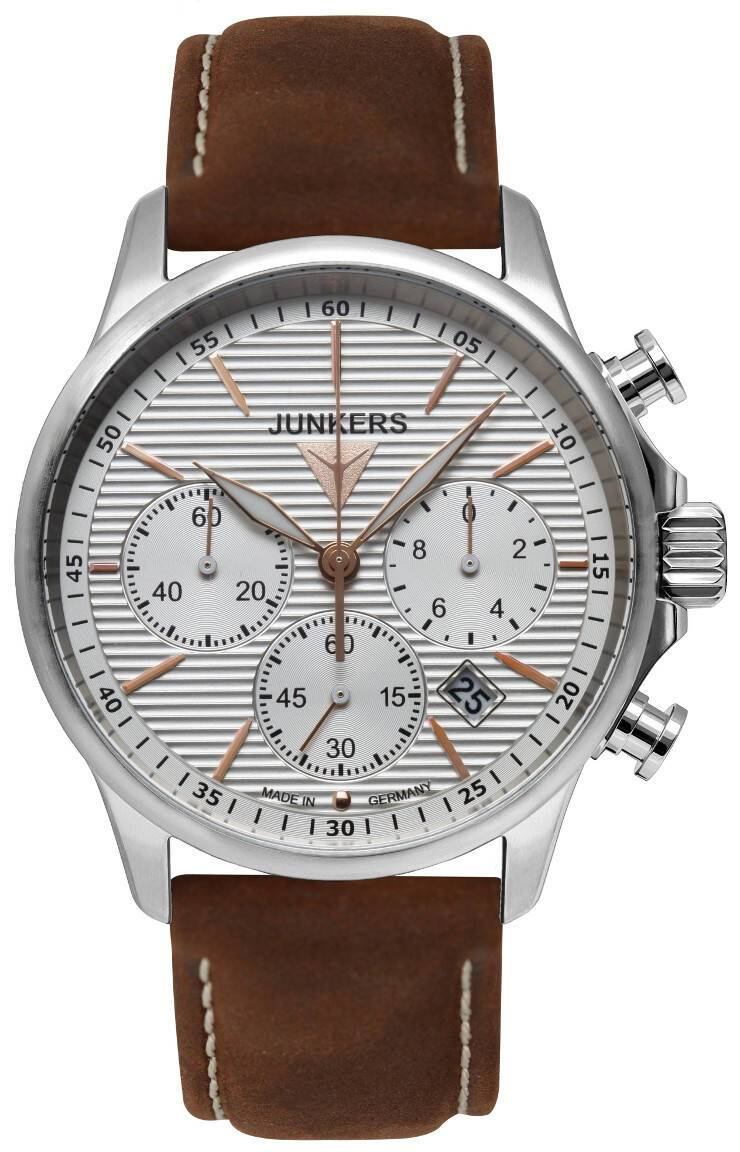 Junkers Tante JU Chronograph Wellblech 6878-4