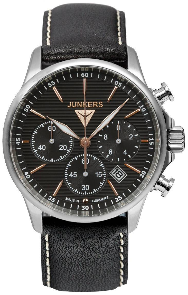 Junkers Tante JU Chronograph Wellblech 6878-5