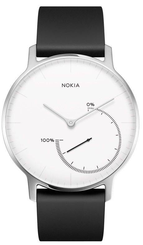 Nokia Activite Steel Black and White