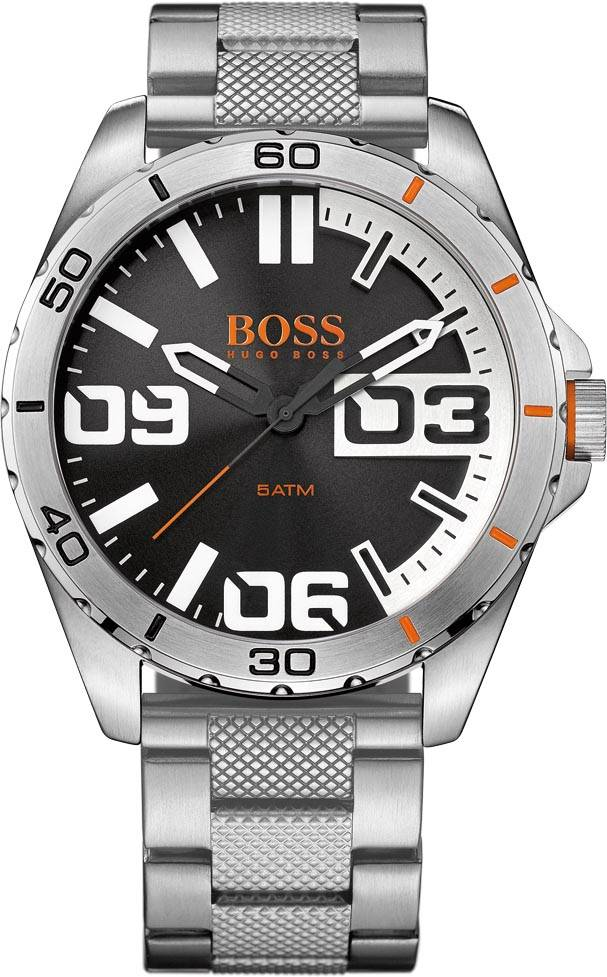 Hugo Boss 1513288 HO BERLIN HR SS LÆ SORT SKIVE 50M