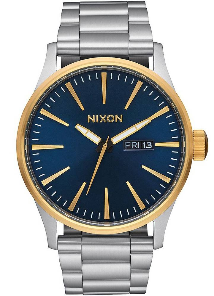 Nixon Sentry SS Gold/Blue Sunray A356-1922