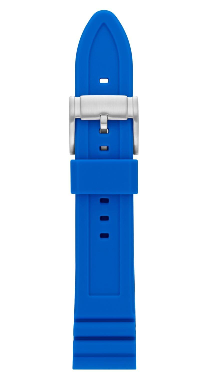 Fossil 22mm Blue Silicone Strap S221317