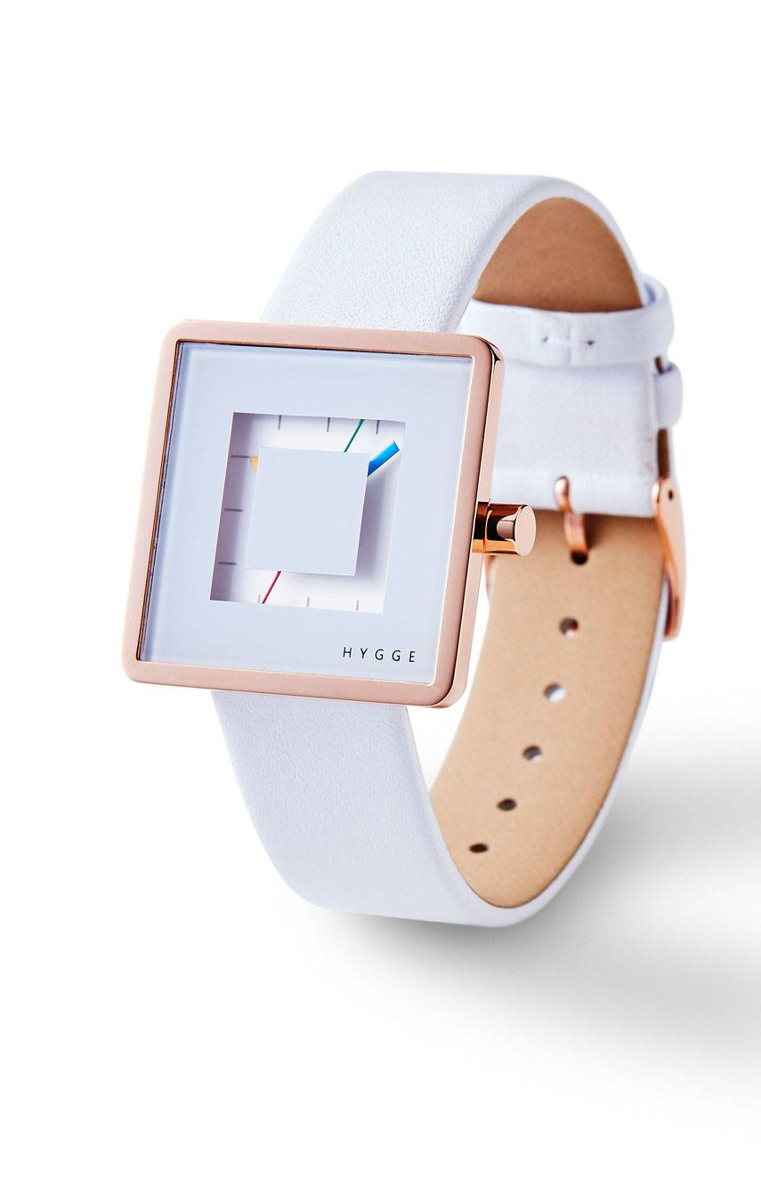 HYGGE WATCHES 2089 ROSE GOLD
