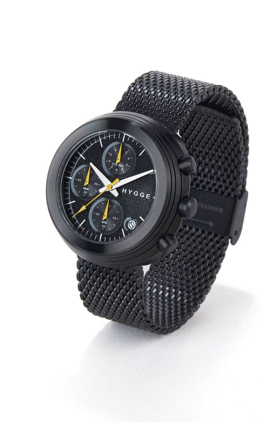 HYGGE WATCHES 2312 CHRONOGRAPH MSM2312BC(BK)