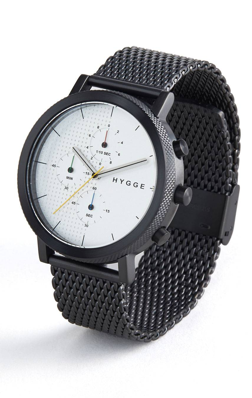HYGGE WATCHES 2204 CHRONOGRAPH MSM2204BC(CH)