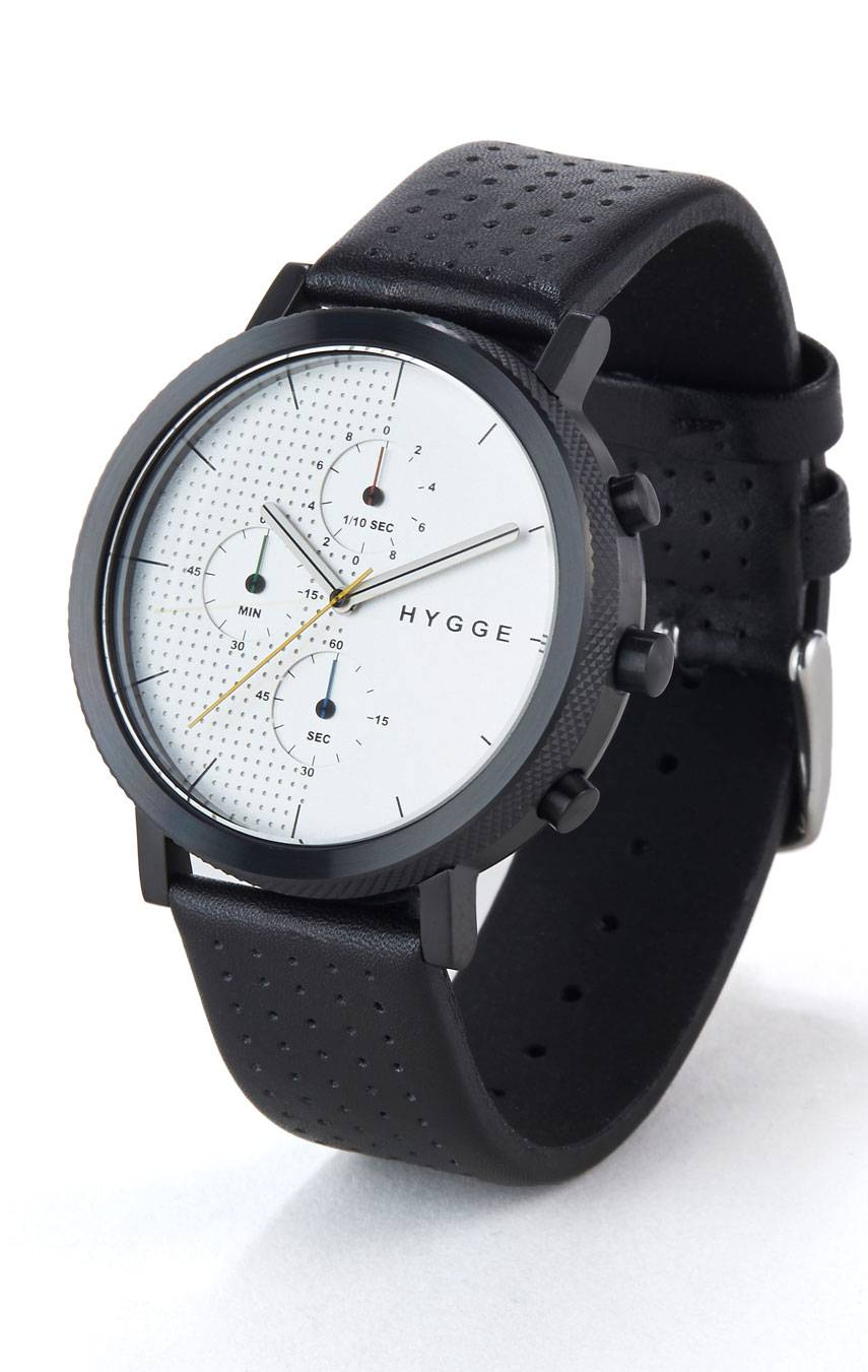 HYGGE WATCHES 2204 CHRONOGRAPH MSL2204BC(CH)